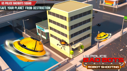 US Police Futuristic Robot Transform Shooting Game 2.0.4 screenshots 7