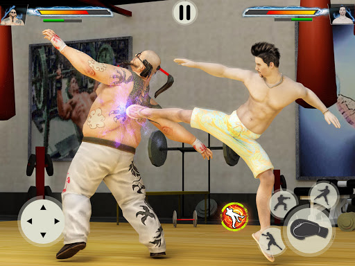 GYM Fighting Games: Bodybuilder Trainer Fight PRO apkmr screenshots 6