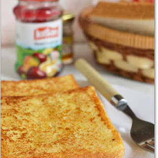 Eggless French Toast (Sweet Version) - Ingredients