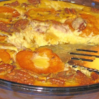 Apricot Clafouti With Lavender & Pecans