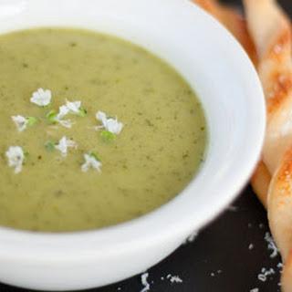 Summer Zucchini Garden Soup