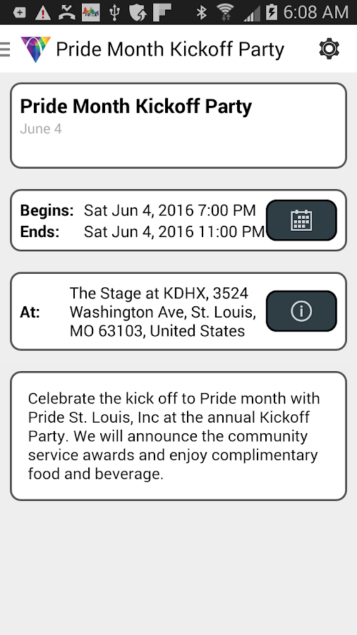 Pride St. Louis- screenshot