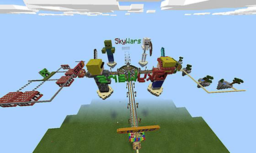 Map Skywars for Minecraft MCPE - náhled
