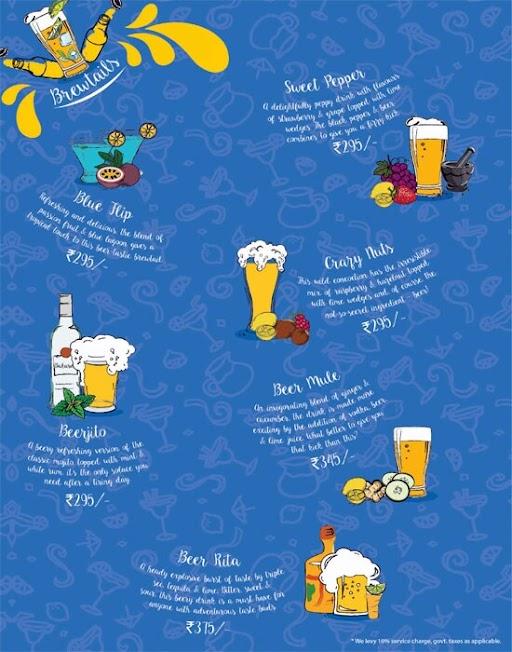 The Beer Cafe menu 15