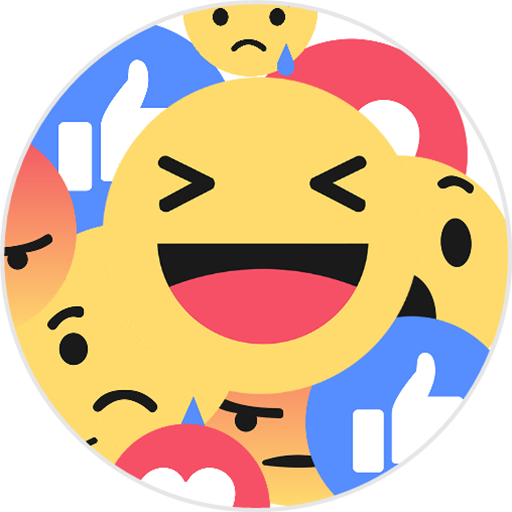 Reacciones for Facebook Icon