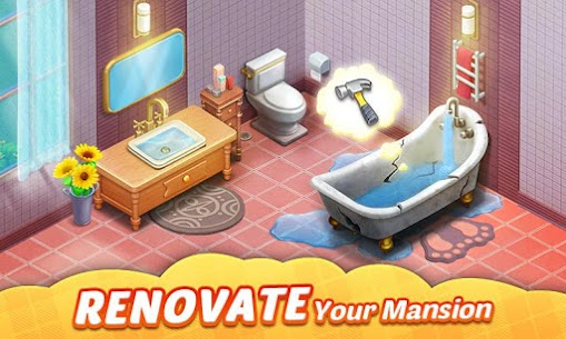 Matchington Mansion MOD APK 1.85.0 [Unlimited Coins + Unlocked] 2