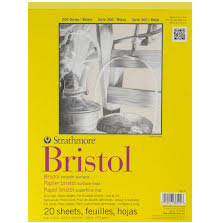 Strathmore Bristol Smooth Paper Pad 9X12