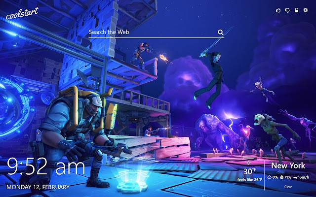 Fortnite Save the World HD Wallpapers Theme