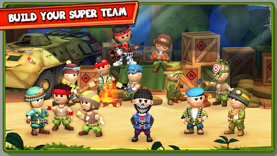 The Troopers: minions in arms- screenshot thumbnail