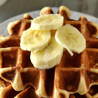 Belgium Waffles for #Food of the World (Vegan Recipe)