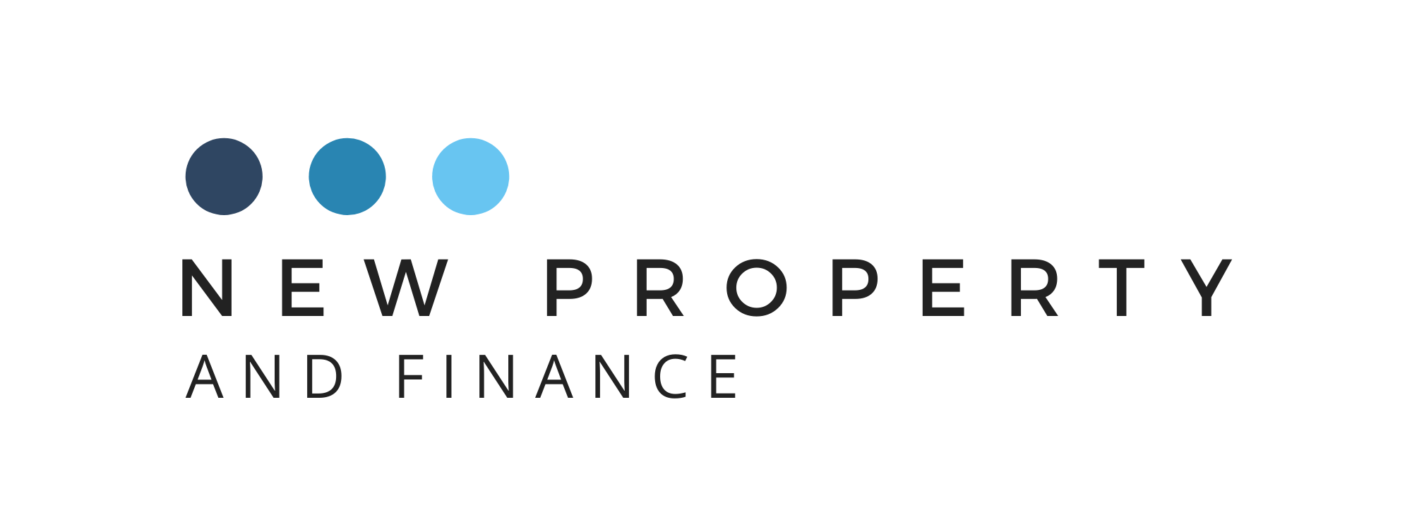 New Property and Finance Pty Ltd Logo Clear