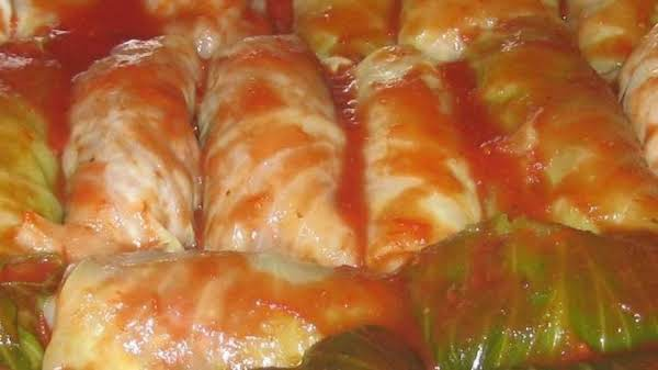 Nancy's Stuffed Cabbage Recipe