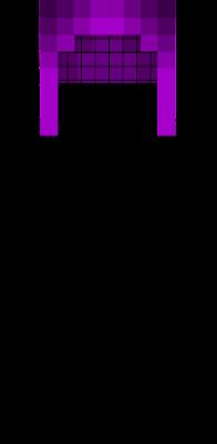 Purple base hair