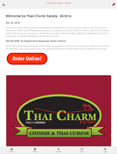 Thai Charm Eatery - Airdrie- screenshot thumbnail
