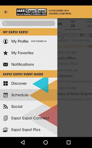 IAEE Expo! Expo! 2016 Screenshot
