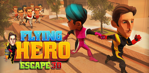 Flying Hero Escape 3D game (apk) free download for Android/PC/Windows screenshot