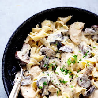 Slow Cooker Chicken Stroganoff Recipes.
