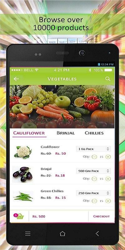 Pinkcitykirana -Online Grocery- screenshot