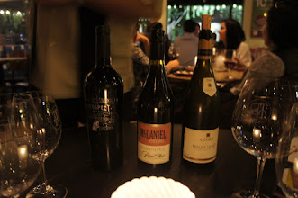 Photo: The three wines we got to taste!