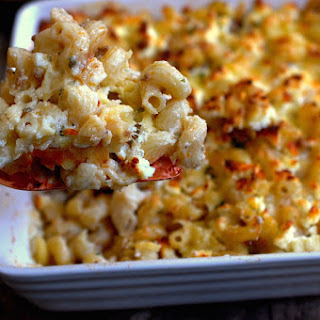 Baked Macaroni And Cheese With Ground Beef Recipes.
