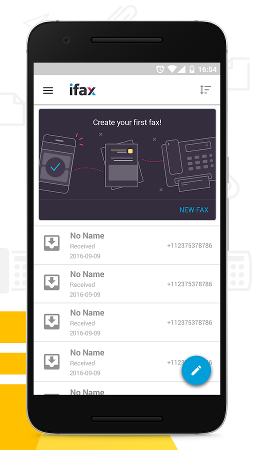 iFax - Send Fax from Phone- screenshot