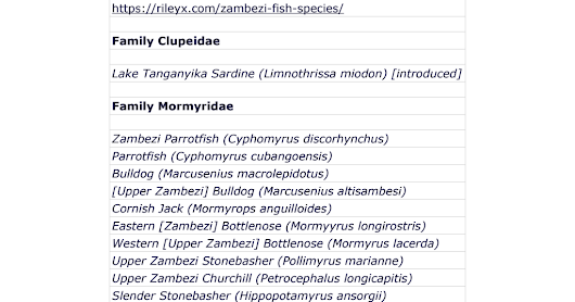 ZambezI Fish Species - Fish in the Zambezi River.pdf