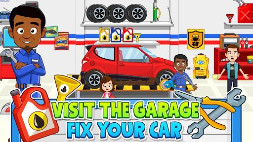 My Town: Car Garage. Wash & Fix kids Car Game  screenshots 16