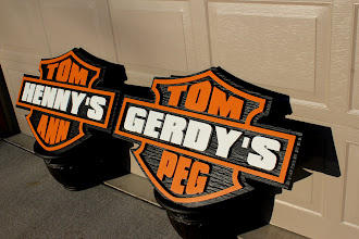 Photo: Custom Signs for friends in Minnesota. for Wood Sign Prices Here... http://nicecarvings.com/