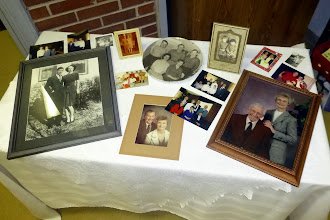 Photo: Reflections of a long life with Grandma.