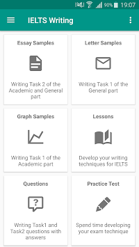 ielts writing apk latest version app for android devices ielts writing poster