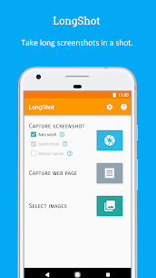 LongShot for long screenshot v0.99.83 (Pro) (Mod Lite) 1