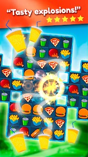 Super Burger Match3 HD- screenshot thumbnail