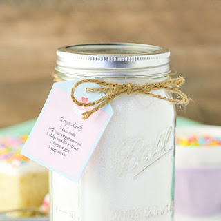 Homemade Vanilla Cake Mix.