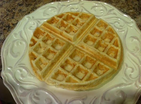 Healthy Belgian Waffles (whole Wheat, Flax, Chia) Recipe