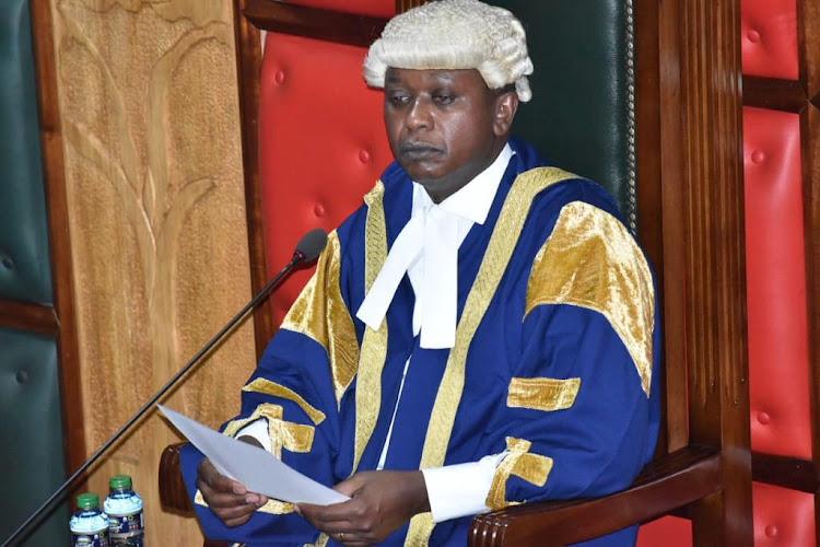 Nairobi County Assembly Speaker Benson Mutura.
