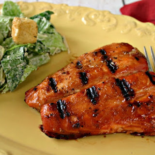 Best Grilled Salmon.