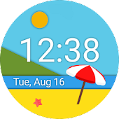 Material Scenery Watch face