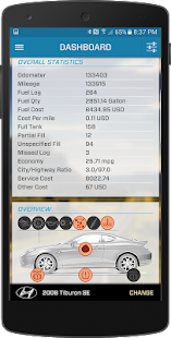 CarPros - OBD Car Logger - náhled