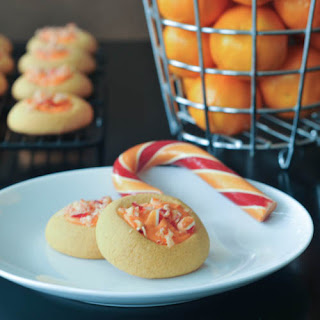 Orange Creamsicle Shortbread Cookies