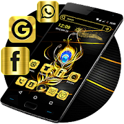 App Gold Feather Launcher Theme APK for Windows Phone