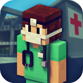 Hospital Craft: Jeux de Médicaux & Construction