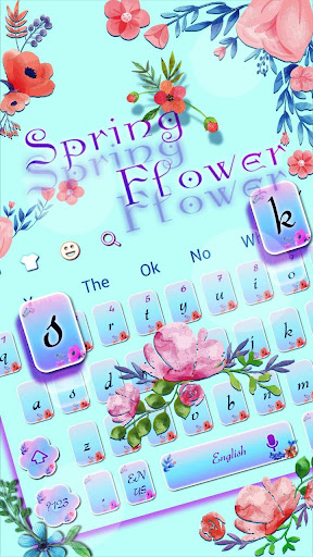 Spring Flowers keyboard screenshots 2