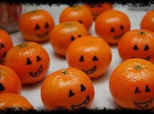 Halloween Oranges Recipe