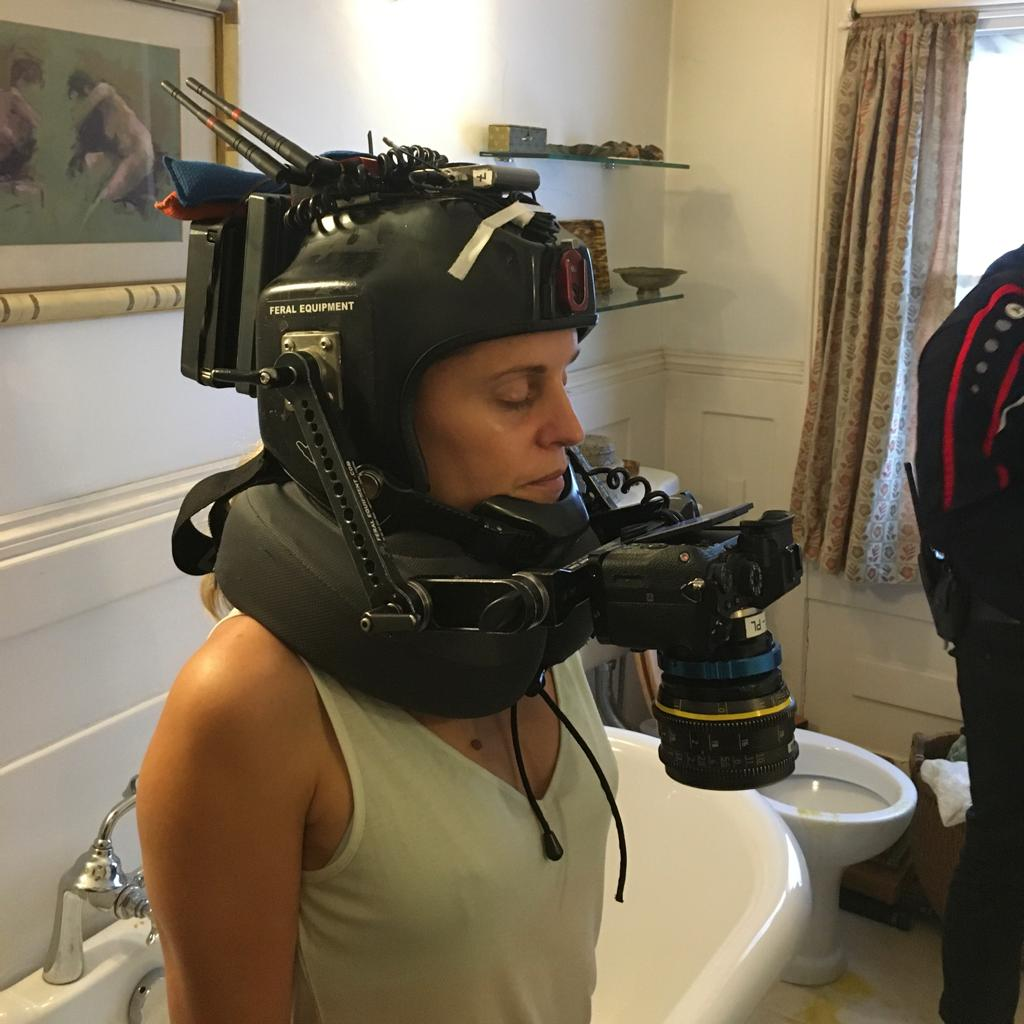 Head-mounted POV camera strapped to the lead actor to capture the delusions from the actors position.