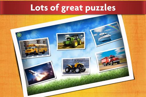 Cars, Trucks, & Trains Jigsaw Puzzles Game ud83cudfceufe0f Apk 2
