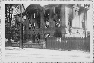 Photo: Komendantūra  1941  metais  prasidėjus  karui.