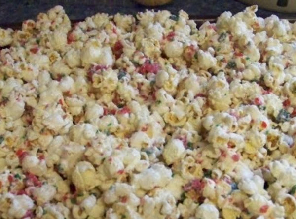 Ultimate Peppermint  With White Chocolate Popcorn Recipe