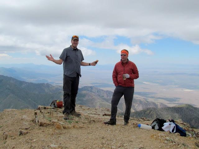 Chris and John at the summit