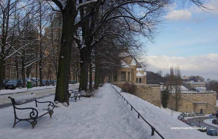 Opady śniegu szczecin