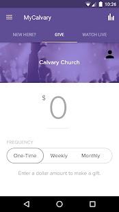 MyCalvary Church - náhled
